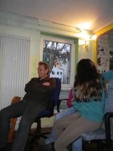 Gerhard auf seiner Jubiläumsfeier